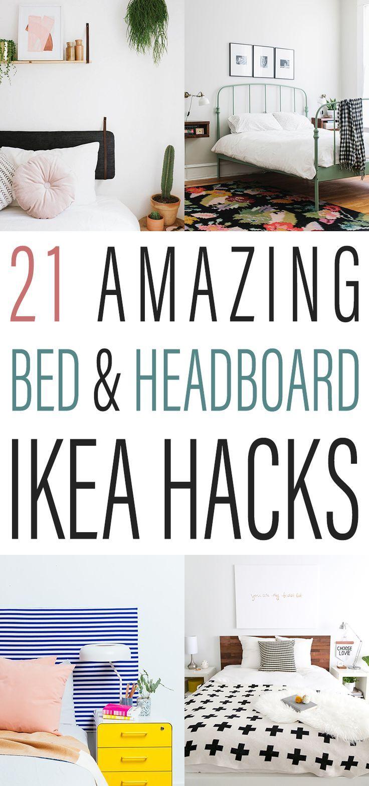 21 Amazing Bed and Headboard IKEA Hacks 21 Amazing Bed and Headboard IKEA Hacks  21 Amazing Bed and Headboard IKEA Hacks