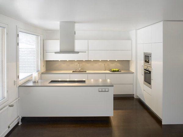 moderni keittiö  Google haku  Keittiö  Pinterest  Kitchens