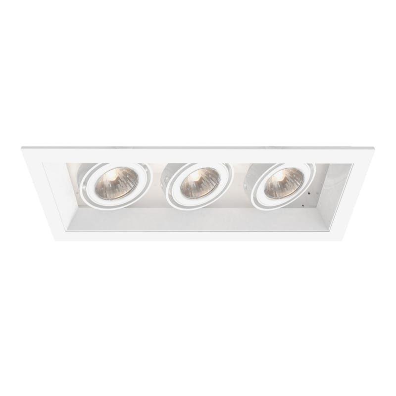 Eurofase Lighting TE113TR Multiple Recessed GU5.3 3 Light Recessed ...