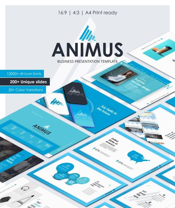 Animus multipurpose powerpoint template system business animus powerpoint template animus is a powerful presentation template this is evolution of all presentation templat toneelgroepblik Gallery