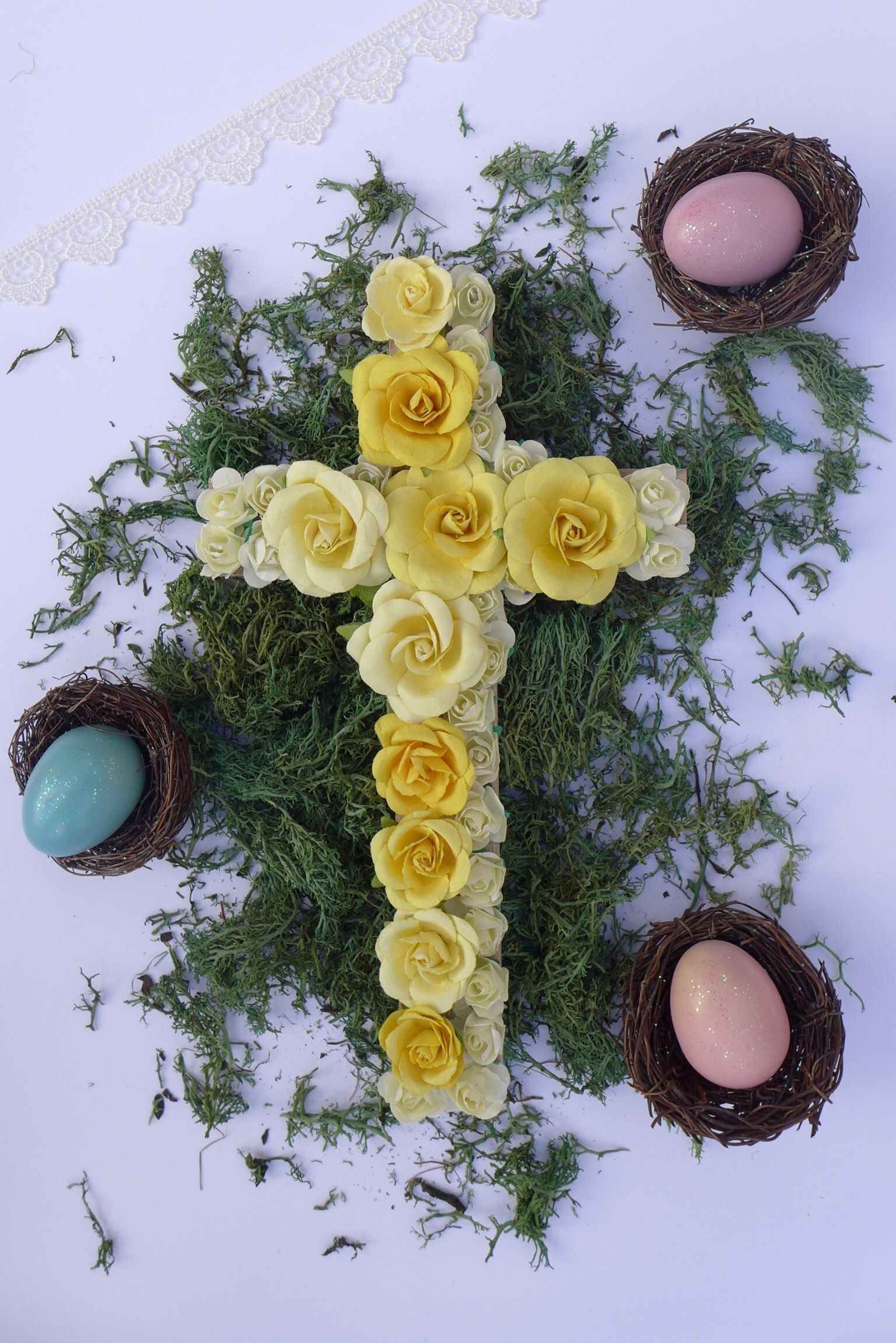 Spring decor/ Spring decorations /Spring floral decor/ spring rustic ...