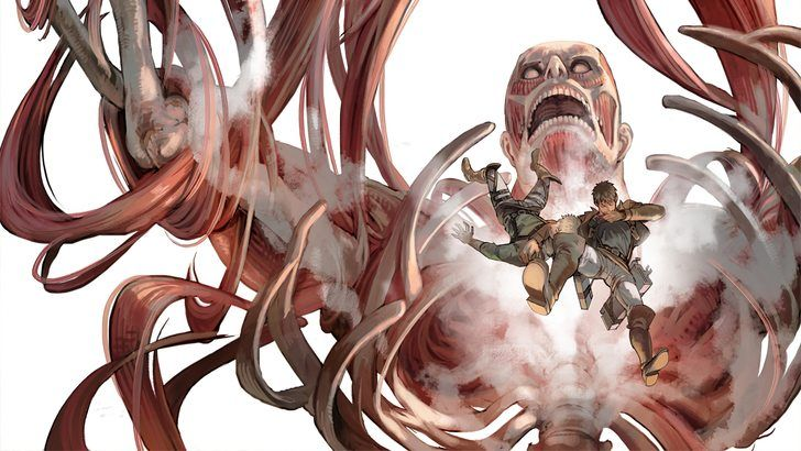 Colossus Titan Bertolt Hoover And Reiner Braun Attack On Titan Wallpaper Atake Titanov Imir Komiksy