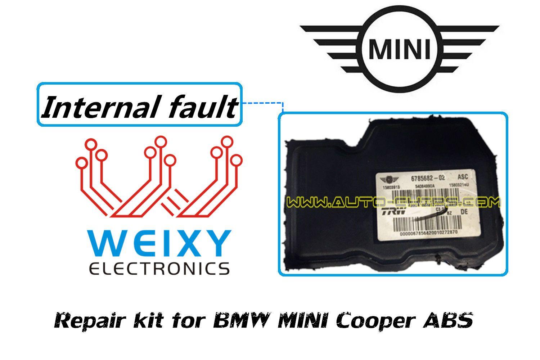 Repair kit for BMW MINI Cooper ABS Solve internal faults