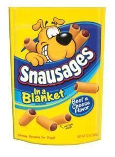 Snausages BeefCheese Flavor 1012 oz. Dog snacks