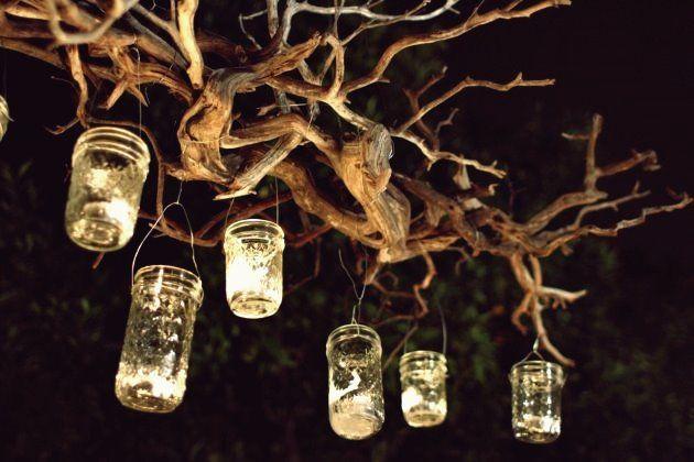 15 Wirklich faszinierende DIY Tree Branch Kronleuchter #kronleuchterauseinmachgläsern 15 Wirklich faszinierende DIY Tree Branch Kronleuchter #kronleuchterauseinmachgläsern