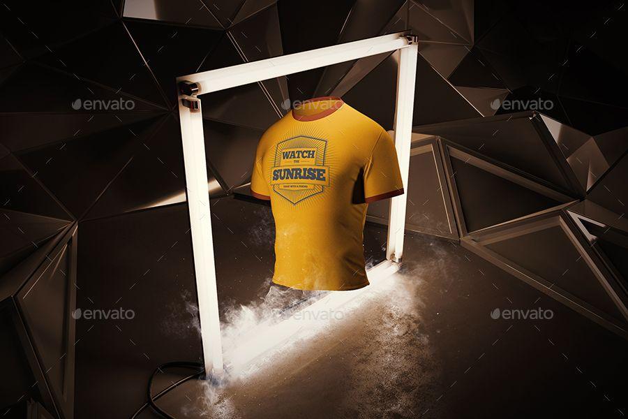 Download Man T Shirt Mock Up Animated Mockup Clothing Mockup Mens Tshirts Shirt Mockup