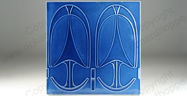 Art Nouveau & Art Deco Tiles. German, SOMAG. This item is sold. To visit my website to see what's in stock click here: http://www.richardhoppe.co.uk or for help or information email us here: info@richardhoppe.co.uk