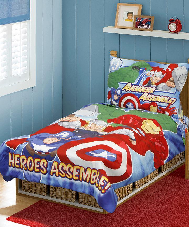 Best Avengers Heroes Assemble Toddler Bedding Set Toddler 400 x 300