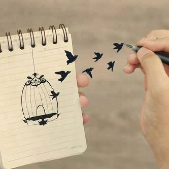 الحرية حرية روح لا جسد Bird Art Book Art Instagram Posts