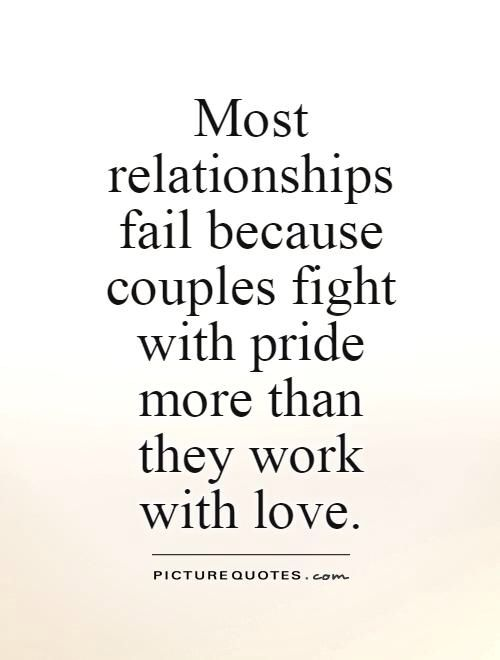 If It Matters Then Make It Work Pride Quotes Pride Quotes Relationships Stubborn Quotes