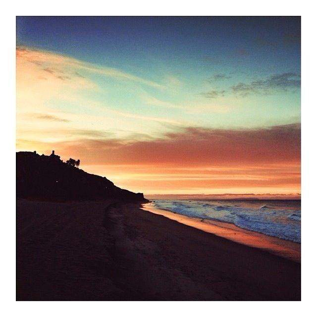 Malibu at 6:30  a.m. In December 2013
