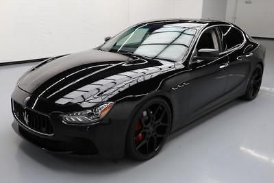 2014 Maserati Ghibli S Q4 Sedan 4 Door 2014 Maserati Ghibli S Q4 Awd Sunroof Nav 22 S 45k Mi 083383 Texas Direct Auto Maserati Ghibli Maserati My Dream Car