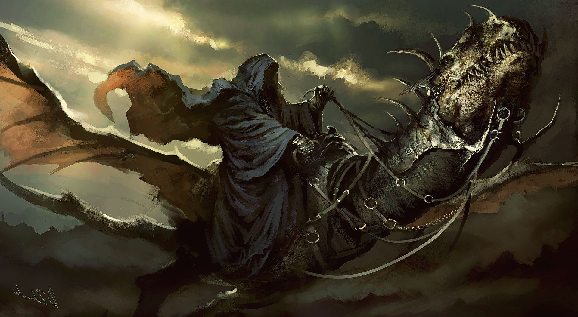 The Lord Of The Rings, Fantasy Art, Nazgûl, Witchking Of