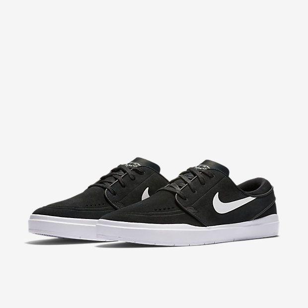 Nike SB - Stefan Janoski Hyperfeel Skateboarding Shoe In Black - $100