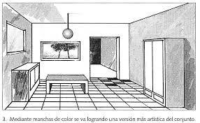 Diseno De Perspectiva Dibujos De Habitaciones Perspectiva Dibujo Perspectiva