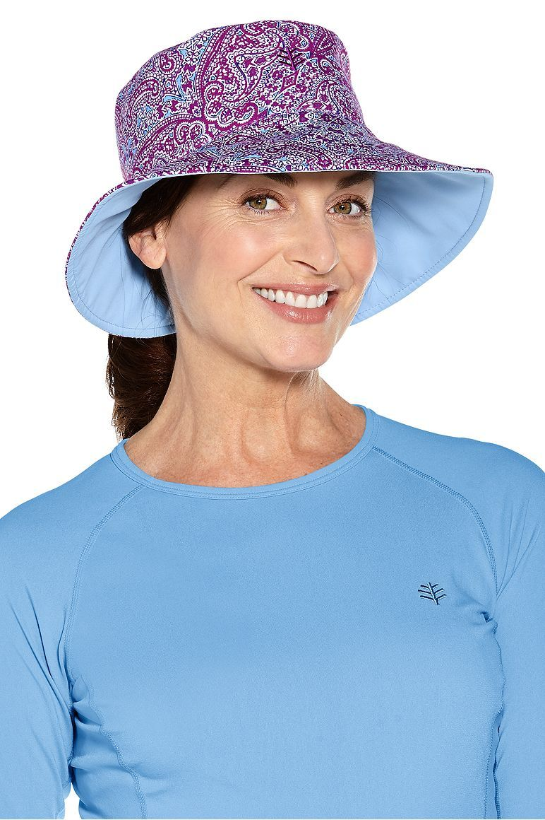 368dec9eea7b8 Reversible Pool Hat  Sun Protective Clothing - Coolibar
