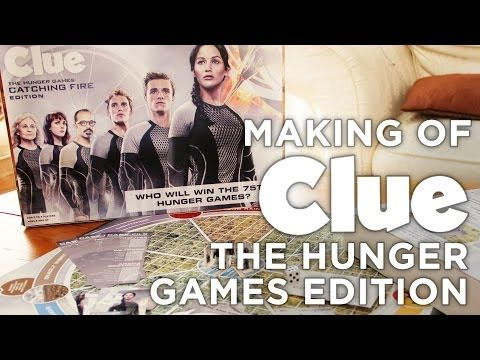 ▶ Making of the Clue: Hunger Games Edition Board Game - YouTube