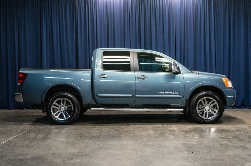 NWMS Delivers : 2012 Nissan Titan Crew Cab SL Pickup 4D 5 1/2 ft ...