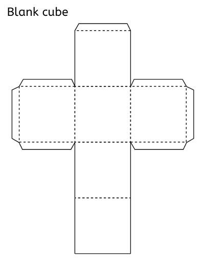 whether you re looking for a blank cube template to print as is or
