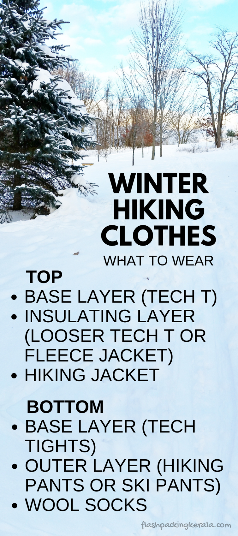 Photo of What to wear hiking in cold weather: Best clothes for winter hiking :: Outdoor travel gear | Flashpacking Kerala