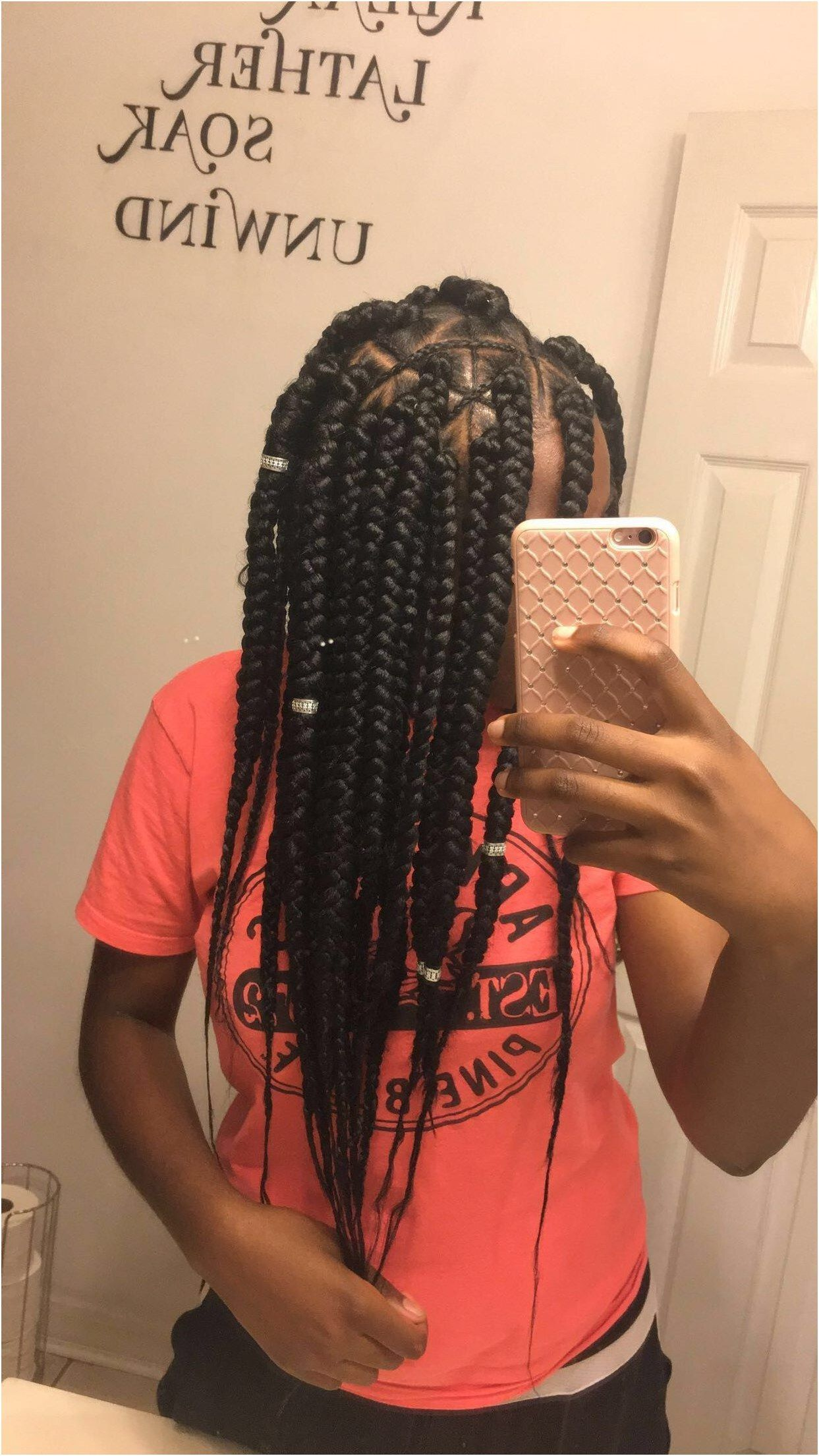 Spider Web Inspired Box Braids By Janellyoung 501870
