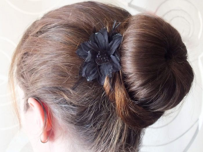 chignon,bun,donut,how,to,coiffure,simple,rapide,