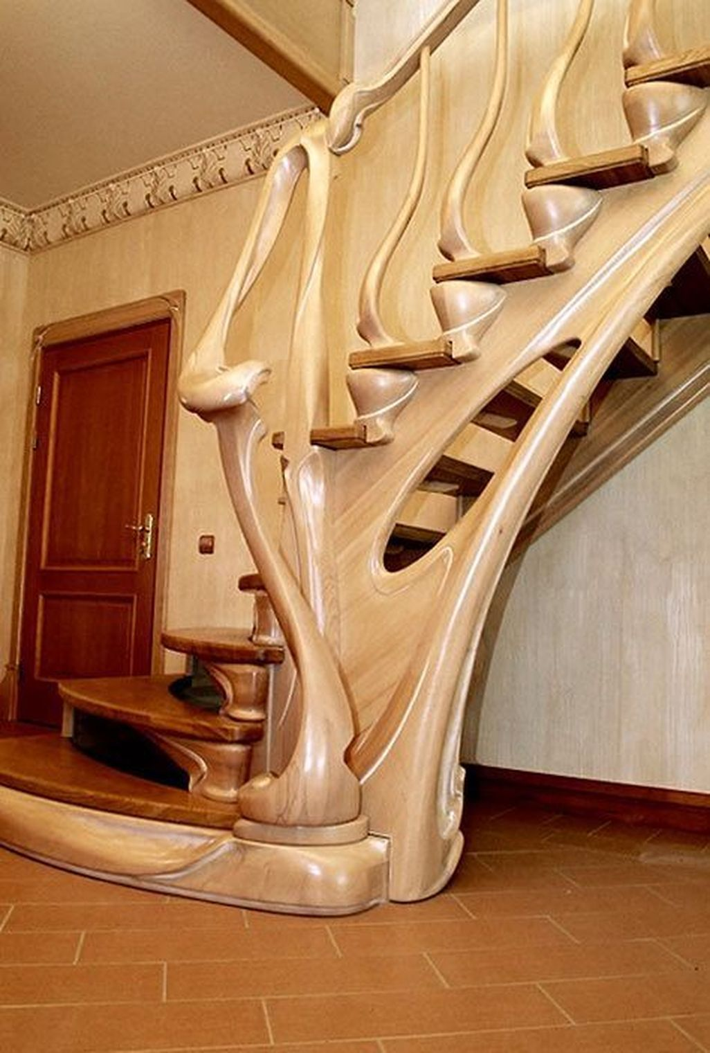 Best Cool 40 Amazing Wooden Stairs For Your Home More At Https 400 x 300