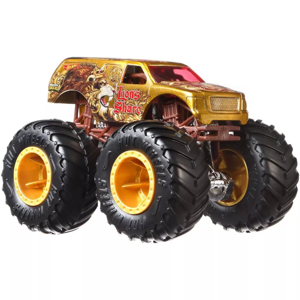 Hot Wheels Monster Trucks 1 64 Critter Crashers 5pk Styles May Vary In 2021 Hot Wheels Monster Trucks Cool Trucks