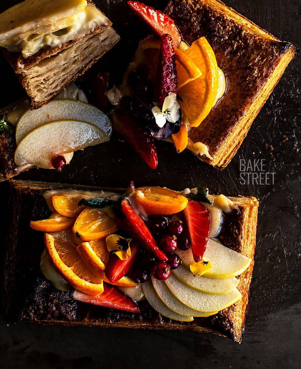Tartaleta De Hojaldre Y Frutas Bake Street Com Receta Recetas De Comida Tartaletas Comida Deliciosa