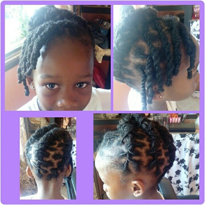 Children Loc Styles Loc Roll Rope Twist Thepondsidesalon Locs Hairstyles Dreads Styles Kids Hairstyles