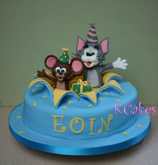 Tom Jerry Birthday Cake Kids Childrens Birthday Cakes
