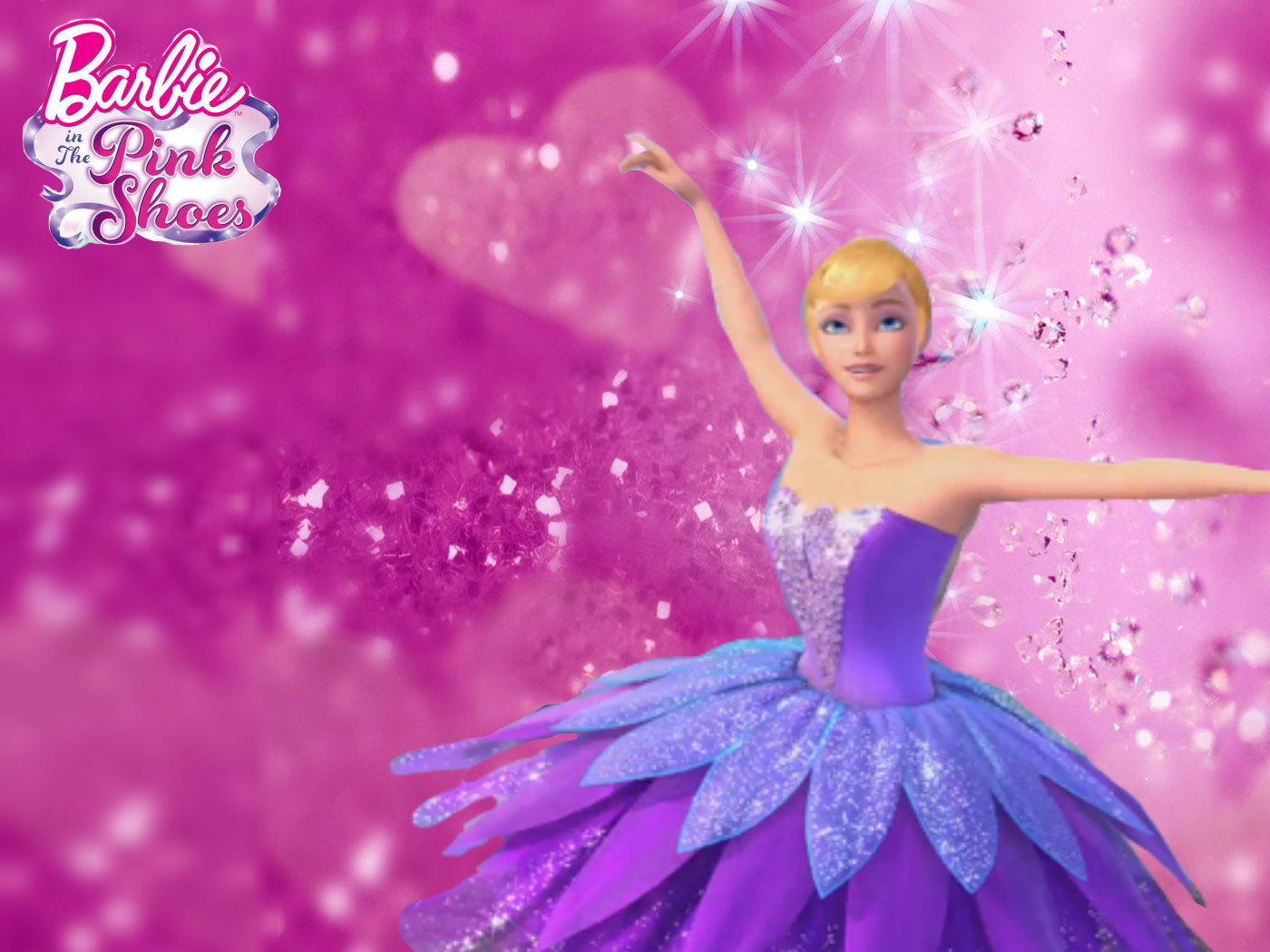 Barbie In The Pink Shoes Barbie Movies Wallpaper