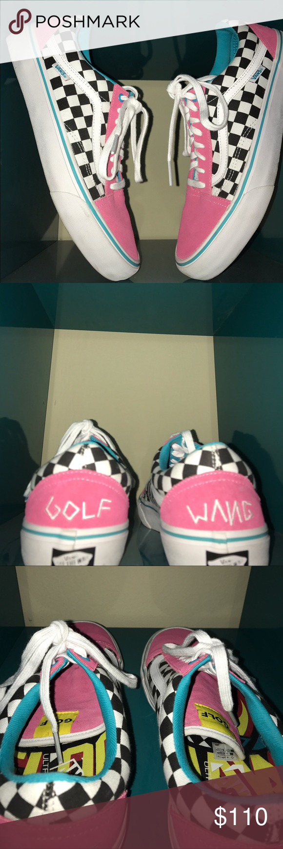 ceb83a20b502 Golf Wang Vans Golf Wang Vans. 9 10 Condition. Size 11. Vans Shoes ...