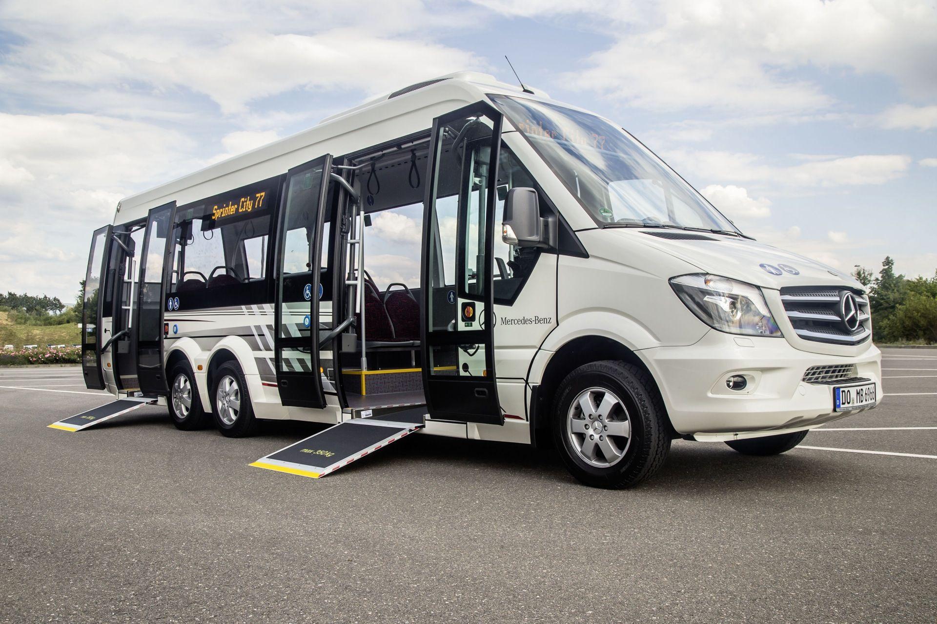 Mercedes benz sprinter city 77 buses pinterest best for Mercedes benz busses