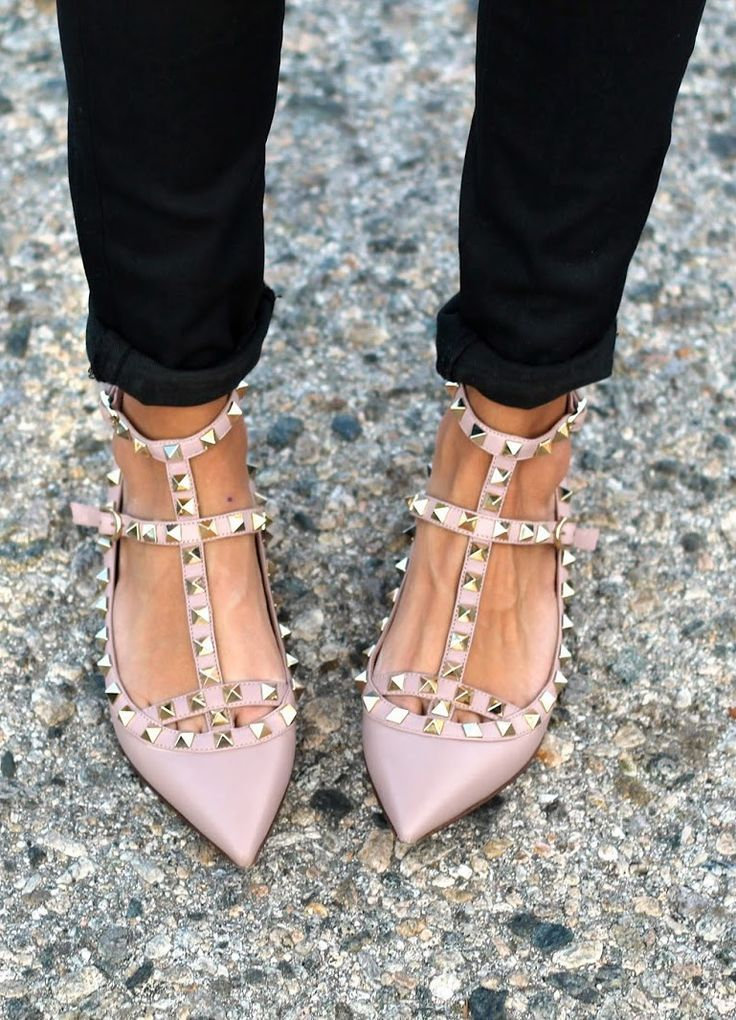 Image result for flat valentino shoes