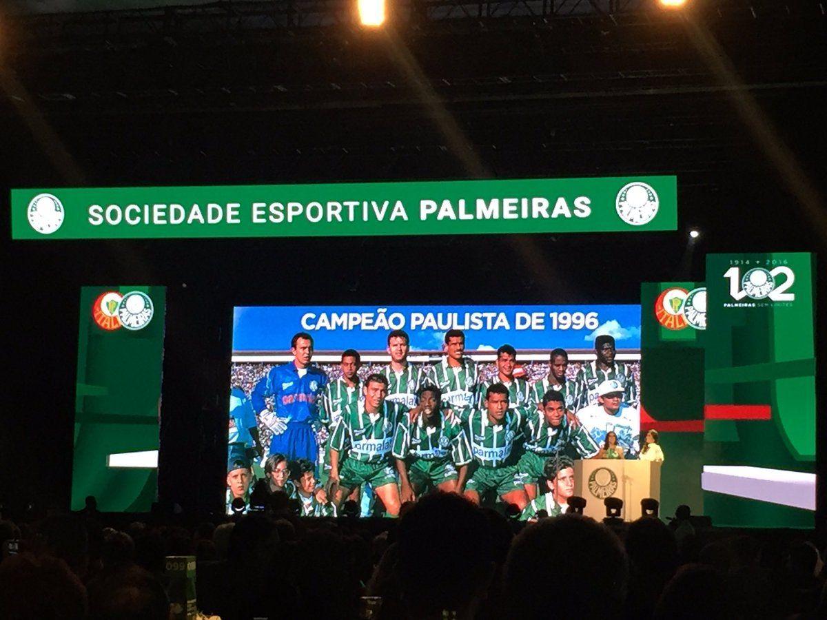 Verdão festeja 102 anos com festa: Nobre fala no evento