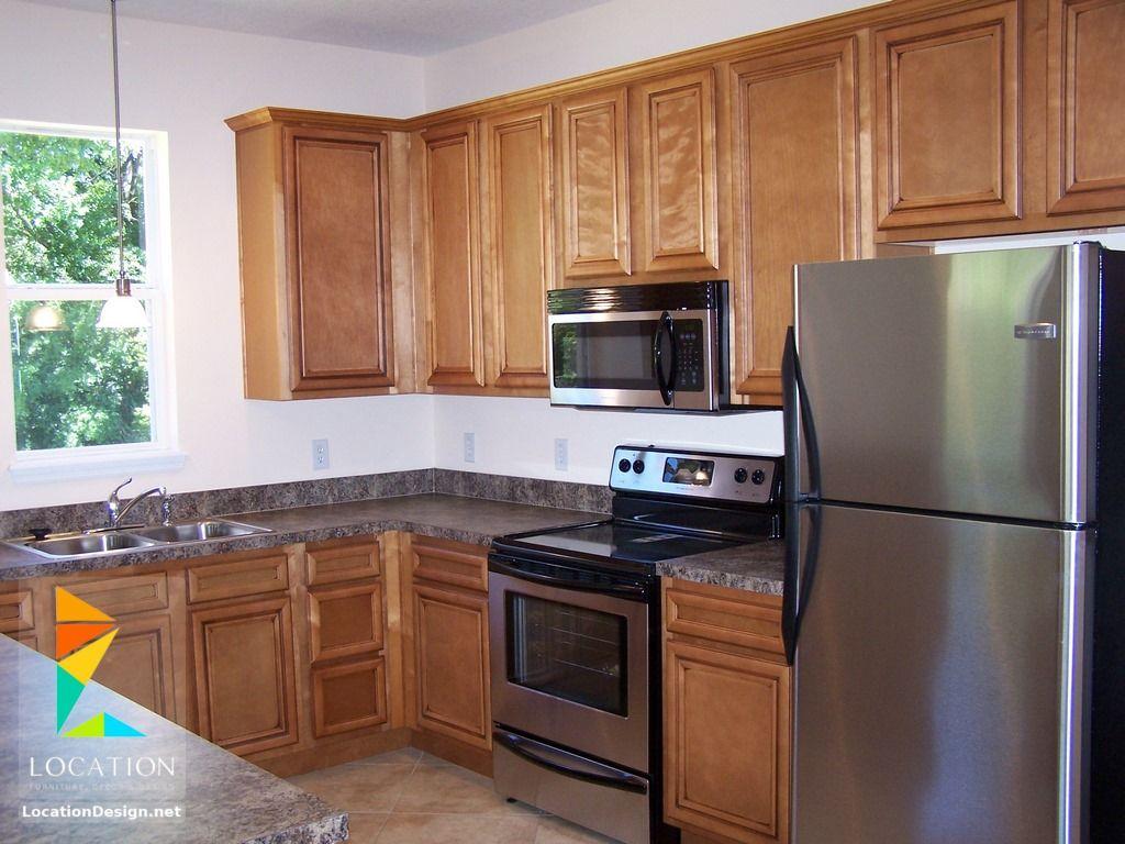 أشكال مطابخ خشبية بتصميمات عصرية دهانات مطابخ خشب 2017 2018 Kitchen Cabinets Kitchen Decor