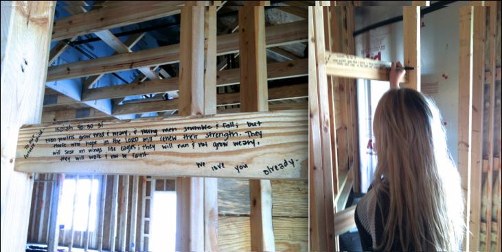 Bible verses for new homes written on studs of house also god rh nz pinterest