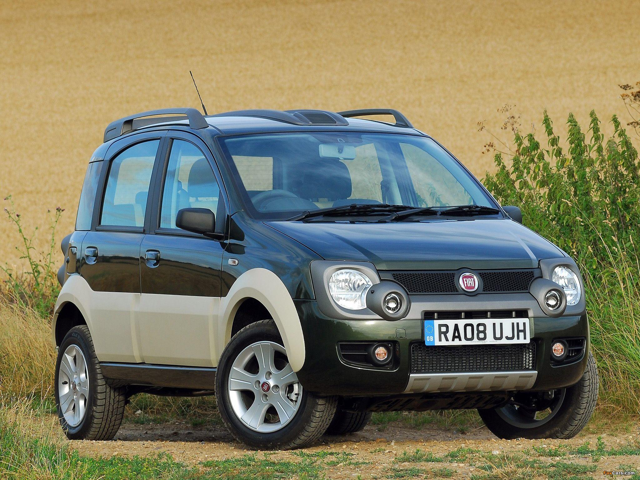 Pictures Of Fiat Panda 4x4 Cross Uk Spec 169 2008 10