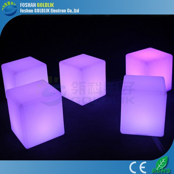 Decor Outdoor Light Up Plastic Cube Chairs Www.goldlik.com