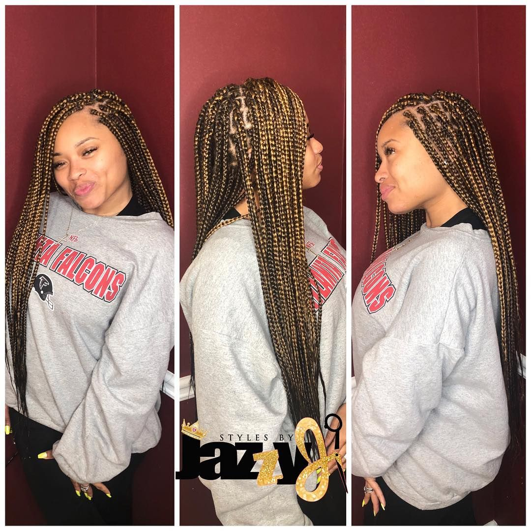 Jasmine On Instagram Small Waist Length Box Braids For