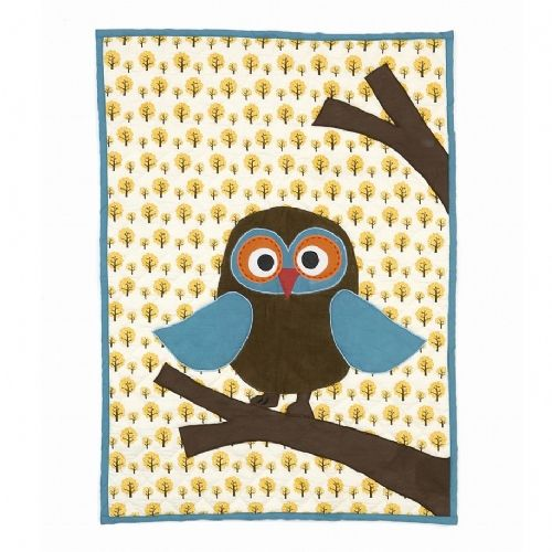 Ferm Eco Friendly Owl Blanket