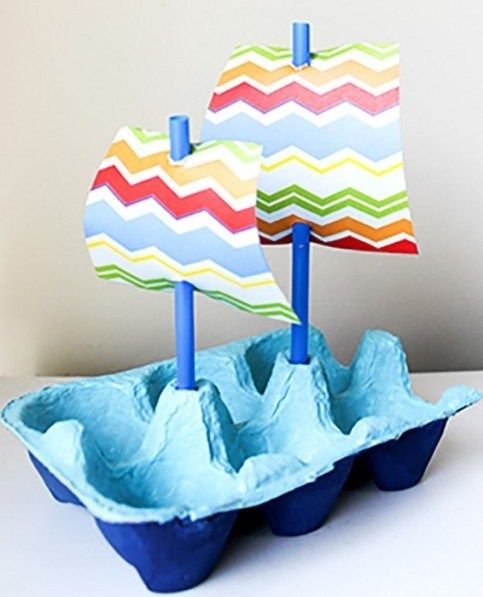 Don't throw away those egg cartons! Instead, use your creativity and turn them into some cute little egg carton crafts