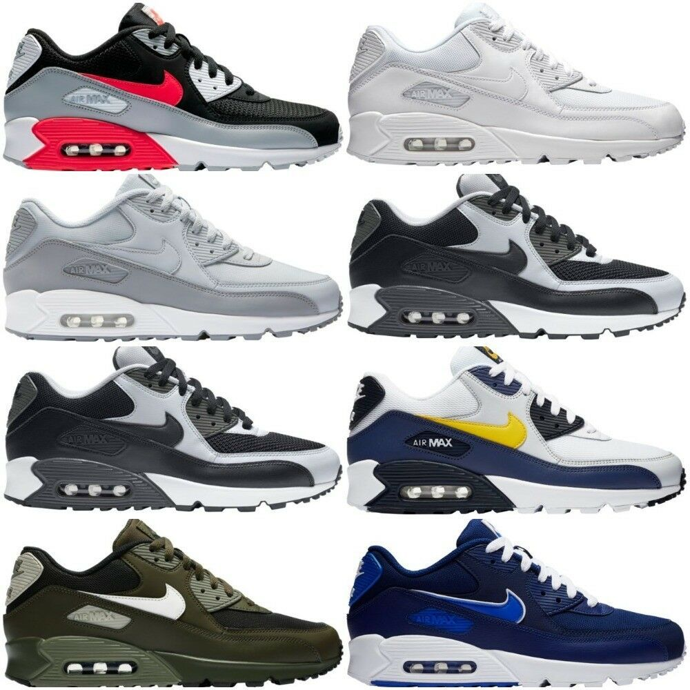 Nike NIKE Air Max 90 sneakers men gap Dis AIR MAX 90 PREMIUM 700,155 015 black black