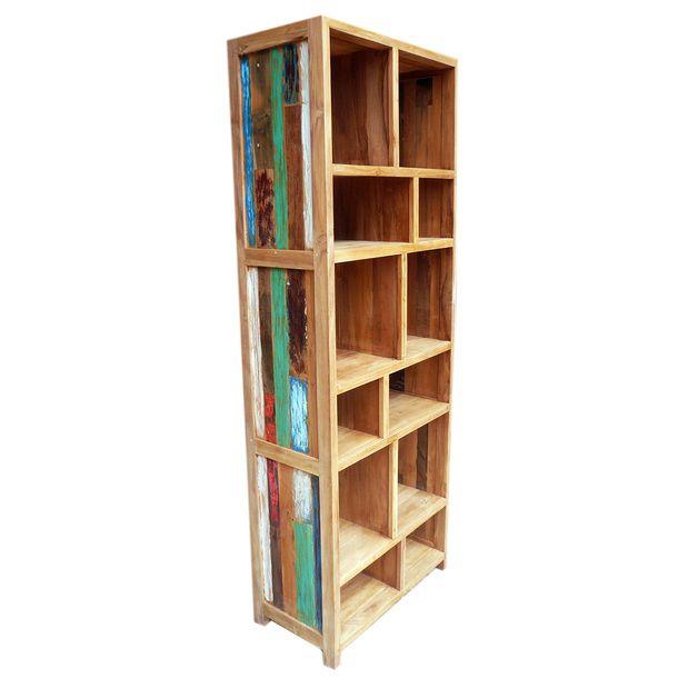 estanteria casera de color - Estanterias Caseras
