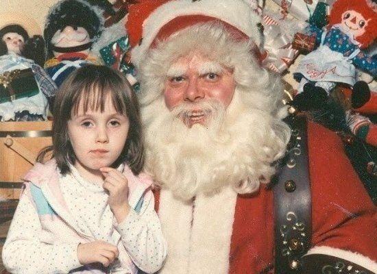 The Bushy Beast Santa Claus Photos Creepy Vintage Awkward Photos