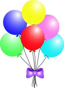 clip art of balloons balloons clip art images balloons stock rh pinterest com free clipart of balloons and streamers clipart pictures of balloons