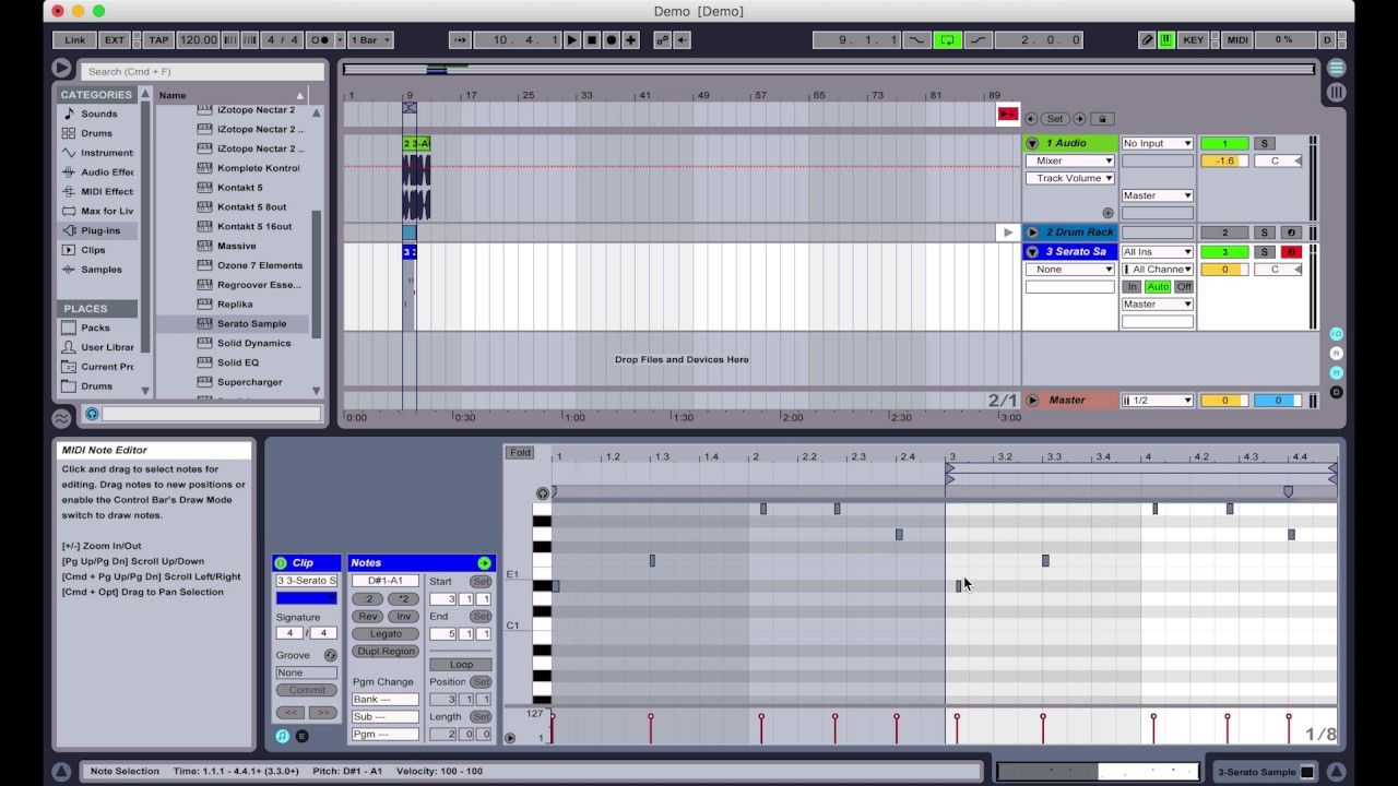 Recording Into Your Daw With Serato Sample Records Dj Gear Sample