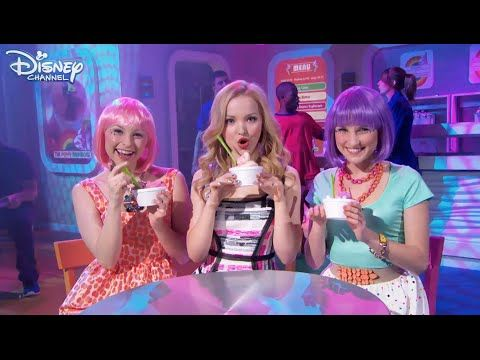 liv and maddie froyo yolo song official disney channel. Black Bedroom Furniture Sets. Home Design Ideas