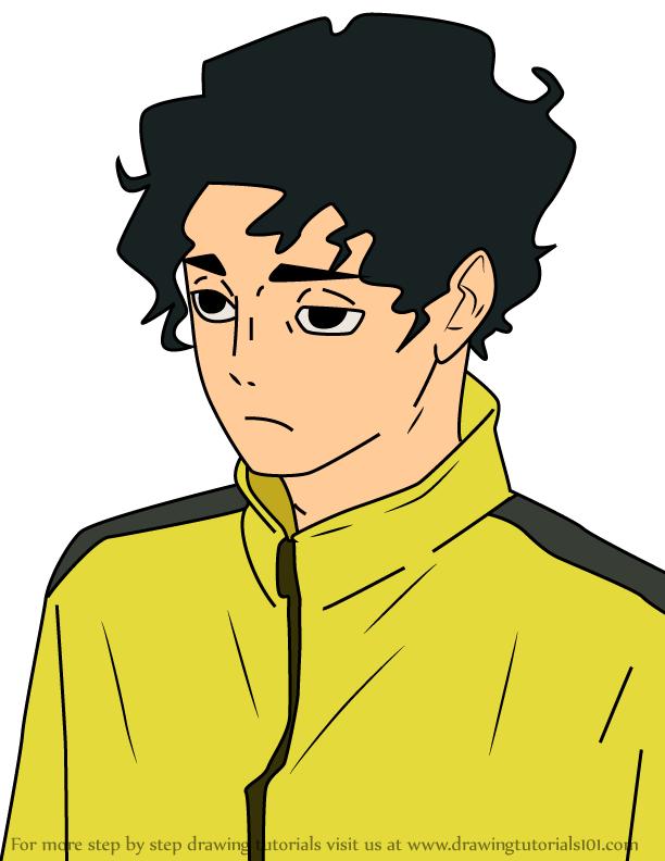How to Draw Kiyoomi Sakusa from Haikyuu!!   Haikyuu ...